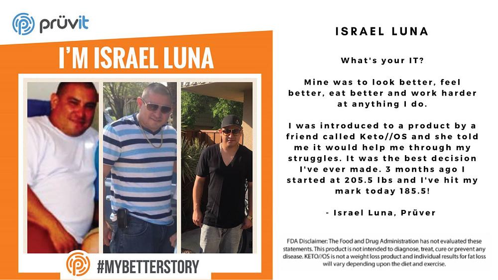 Fat Loss - Israel Luna