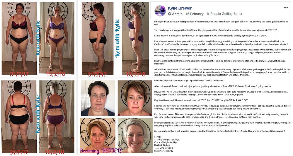 Fat Loss - Diabetes - Depression - Sleep - Kylie Brewer