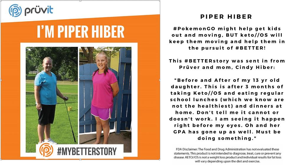 Kids - Fat Loss - Focus - Piper Hiber