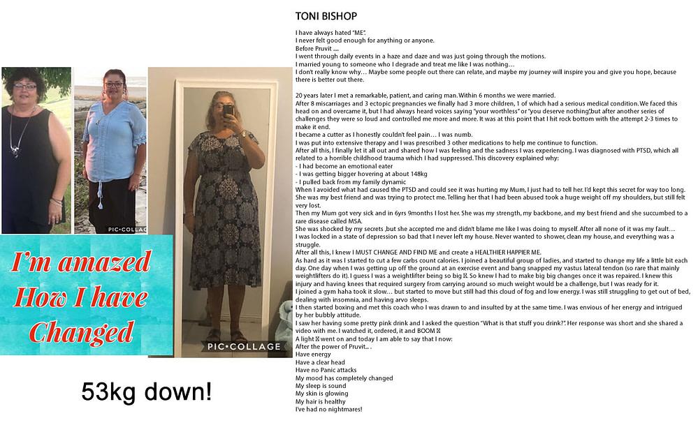 Fat Loss - Energy - Sleep - Focus - Medications - Nightmares - Toni Bishop