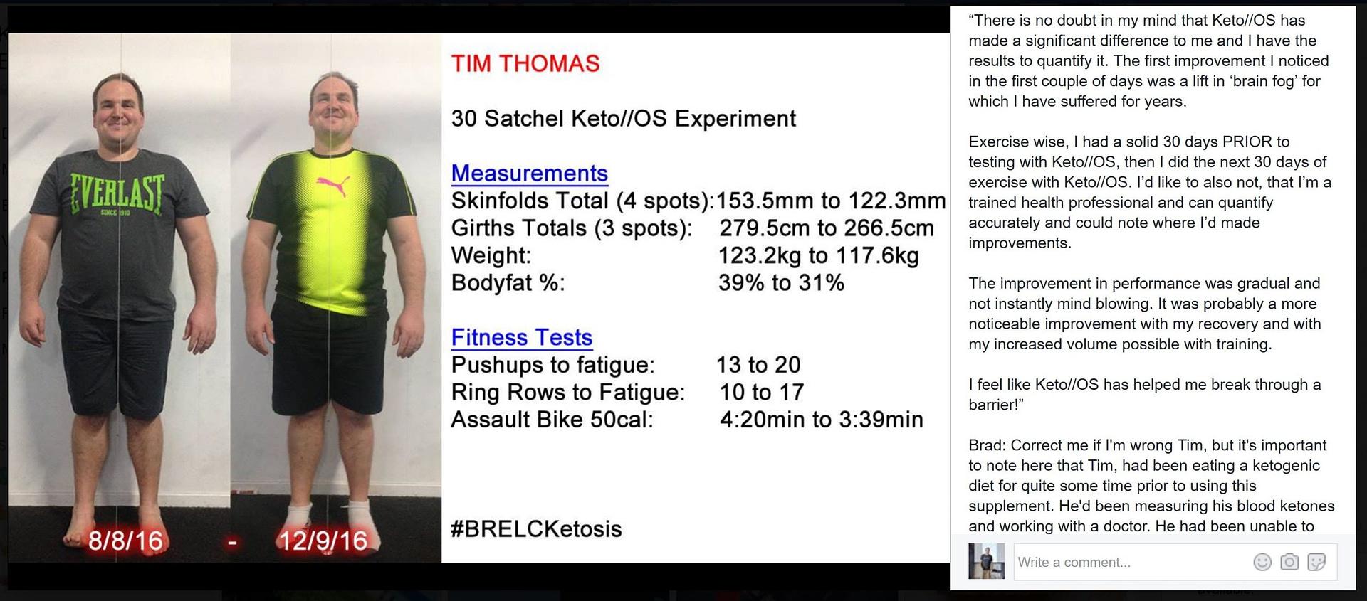 Brain Fog - Fat Loss - Performance - Tim Thomas