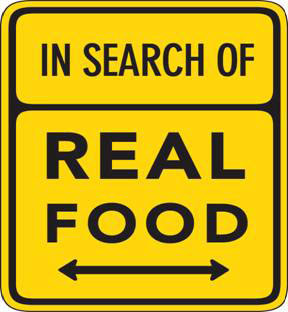 searching for real food