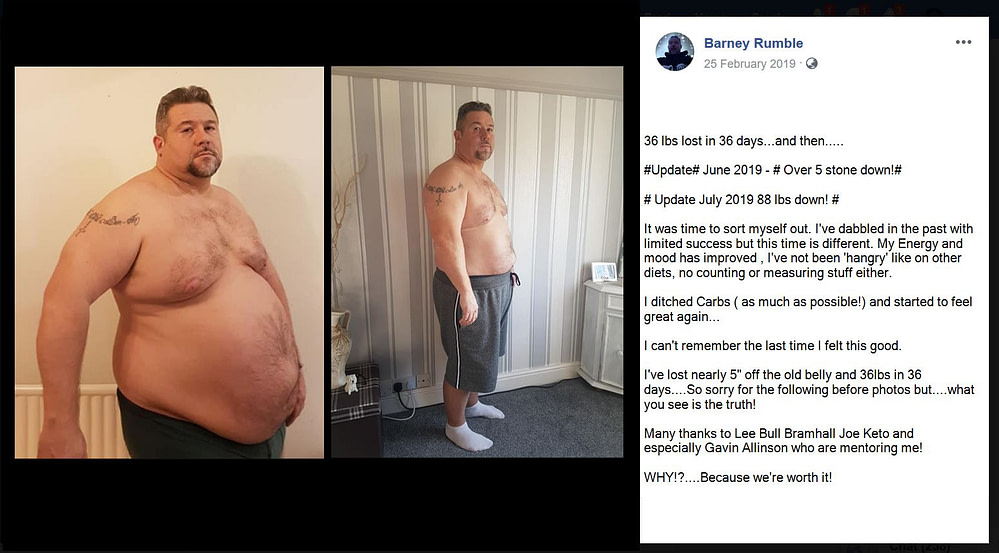 Fat Loss - Energy - Mood - Barney Rumble