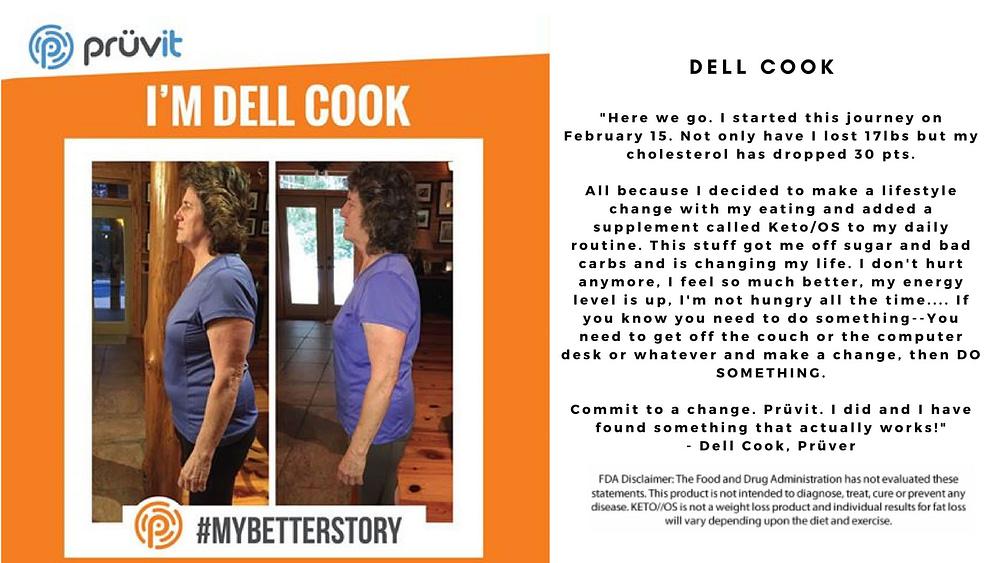 Fat Loss - Cholesterol - Dell Cook