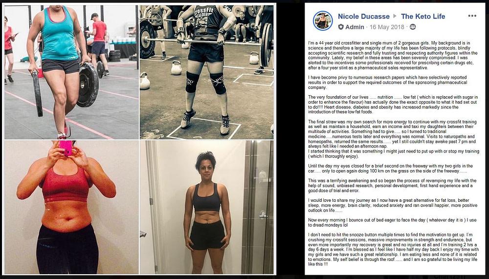 Crossfit - Performance - Medication - Fat Loss - Sleep - Mental Clarity - Nicole Ducasse