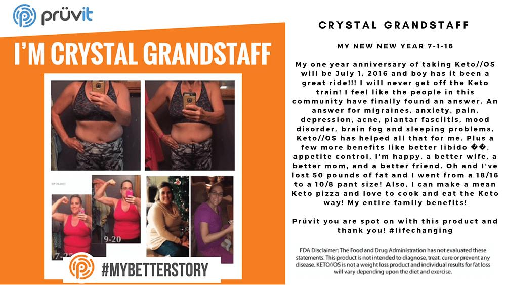 Fat Loss - Migraines - Pain - Sex - Crystal Grandstaff