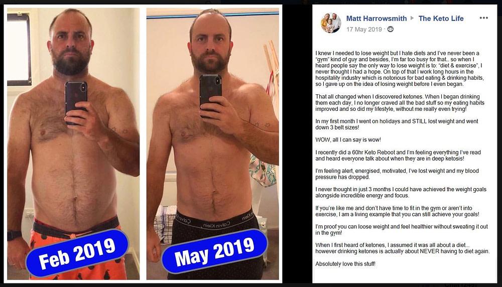 Matt Harrowsmith - Fat Loss - Energy - Focus - Keto Reboot