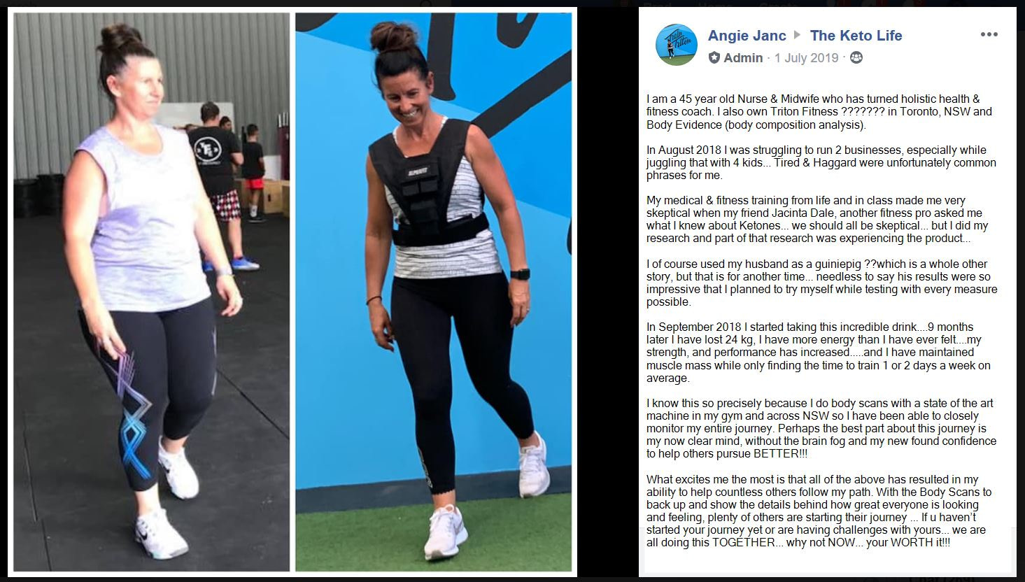Fat Loss - Performance - Crossfit - Strength - Muscle - Angie Janc