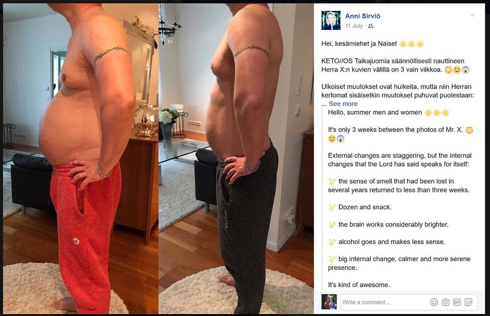 Fat Loss - Anni Sirvio