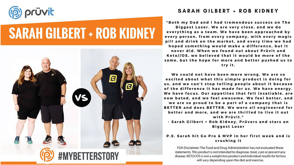 Appetite Supression - Fat Loss - Sarah and Rob