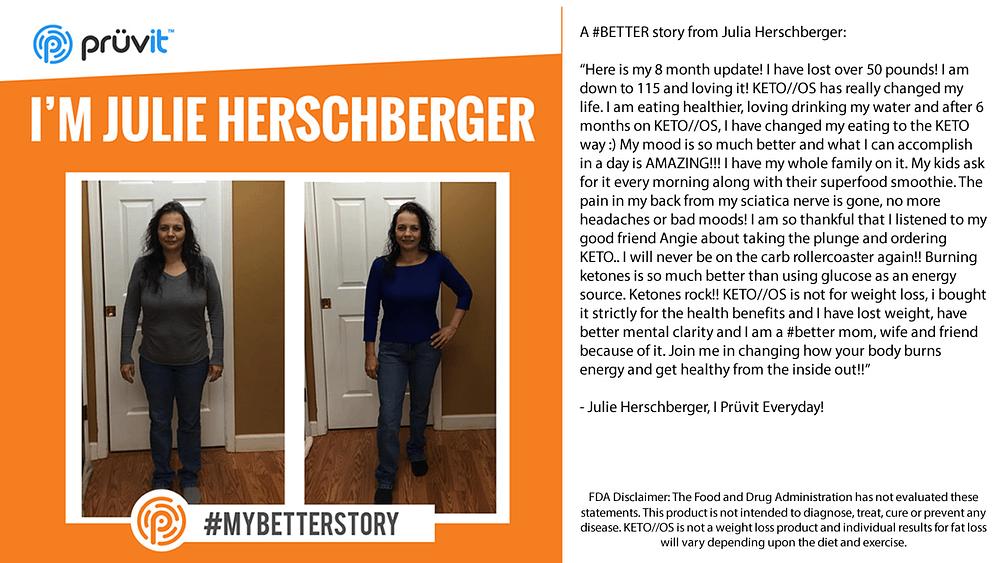Fat Loss - Better Mood - Brain Fog - Julie Herschberger