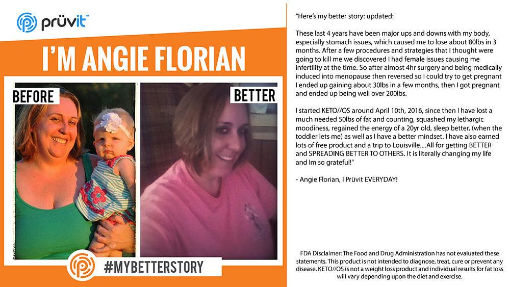 Fat Loss - Pregnancy - Mood - Free Product - Angie Florian