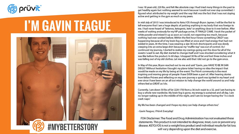 Brain Fog - Energy - Appetite Supression - No Gym - Fat Loss - Business - Gavin Teague