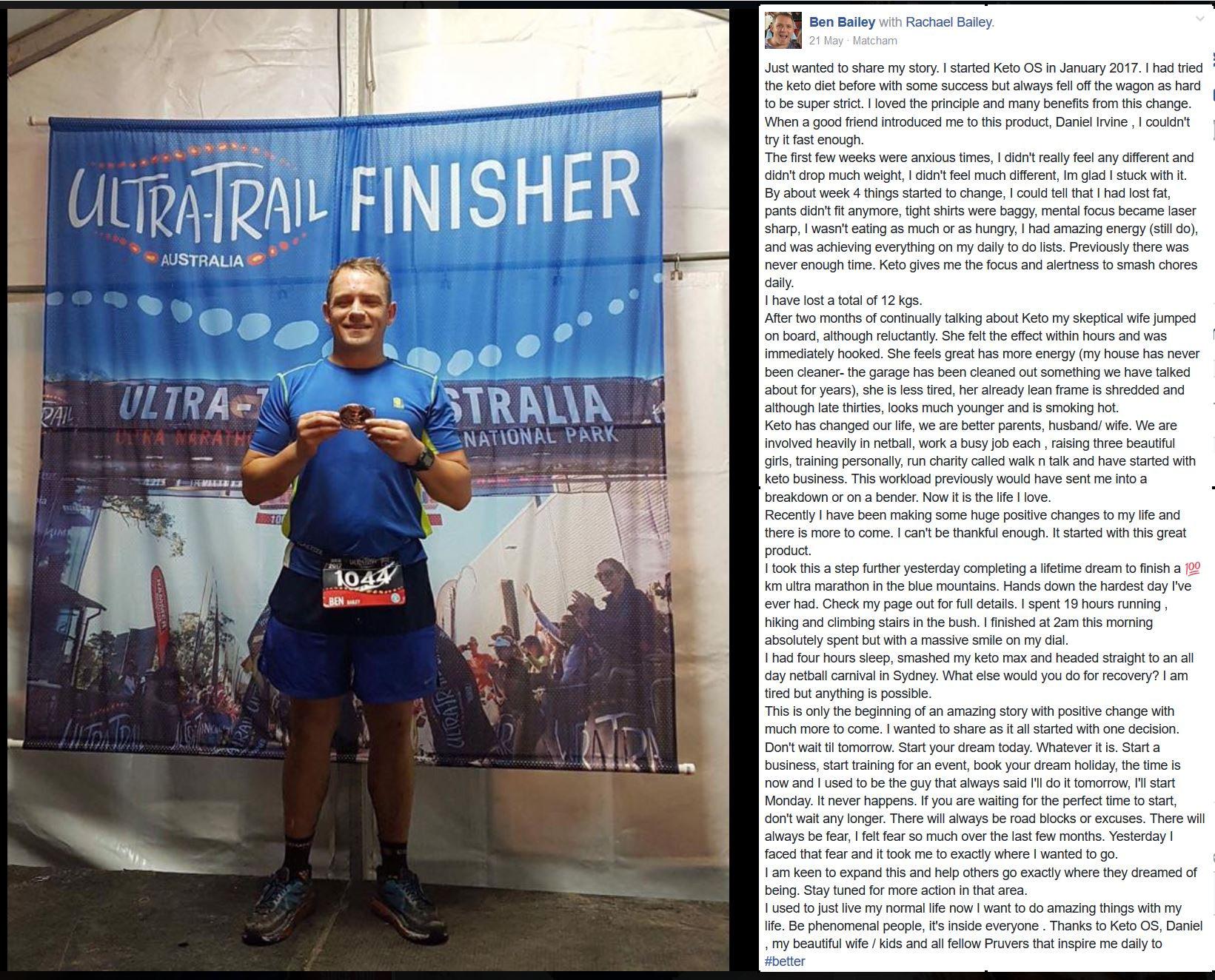 Performance - Running - Fat Loss - Ben Bailey
