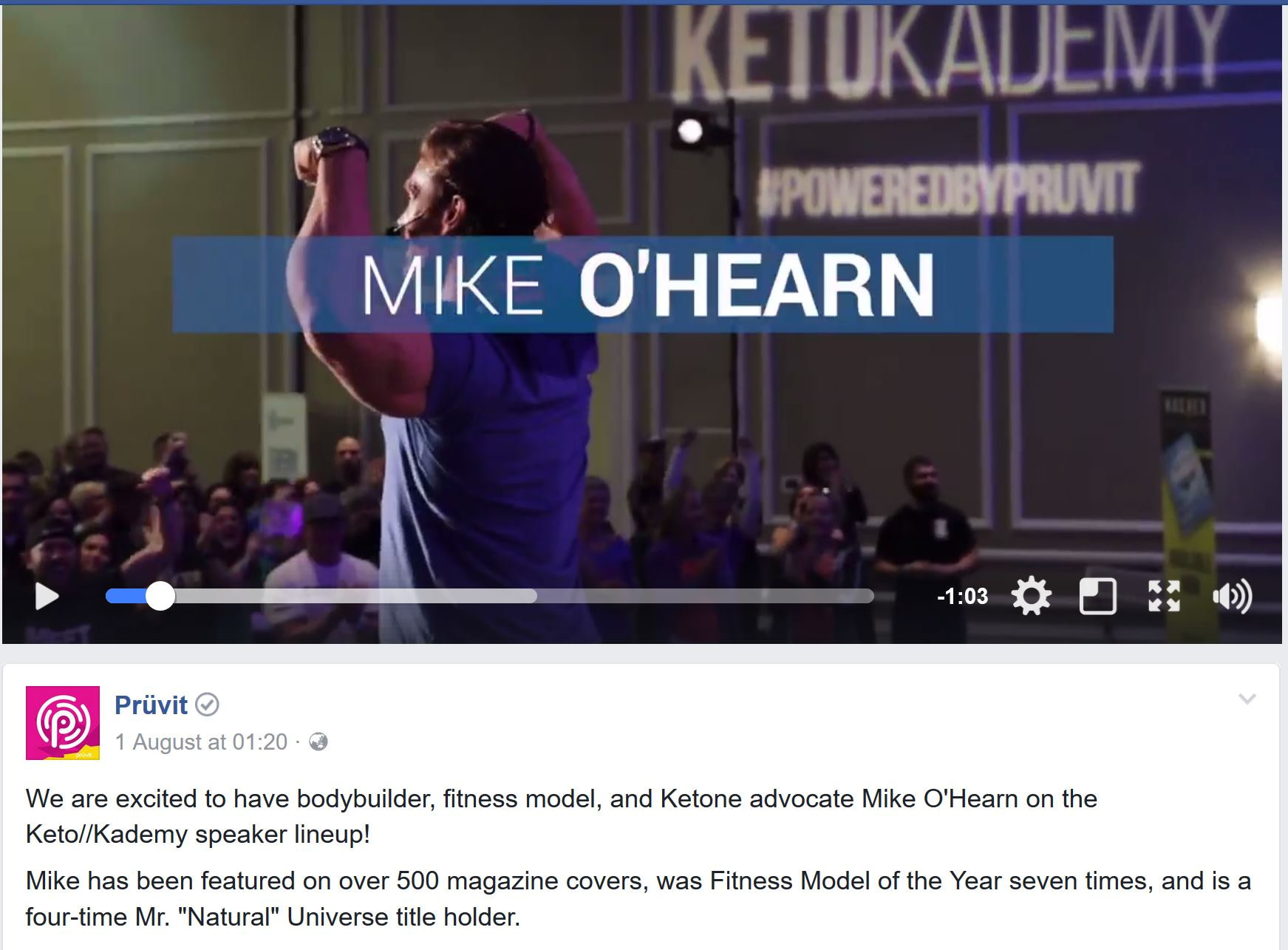 Performance - Bodybuilder - Mike O'Hearn