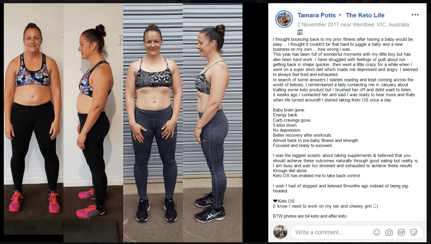 Fat Loss - Energy - Focus - Appetite Supression - Performance - Tamara Potts