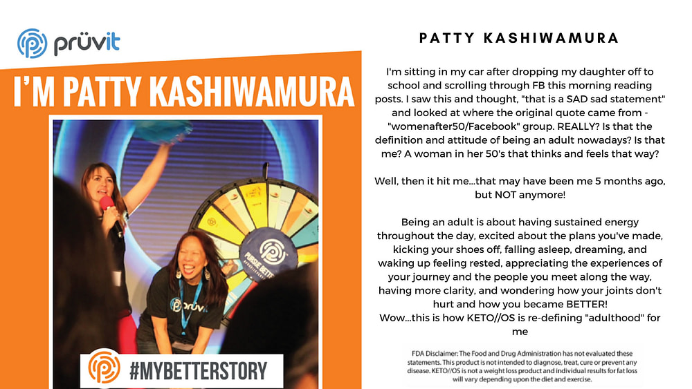 Energy - Mental Clarity - Pain - Patty Kashiwamura