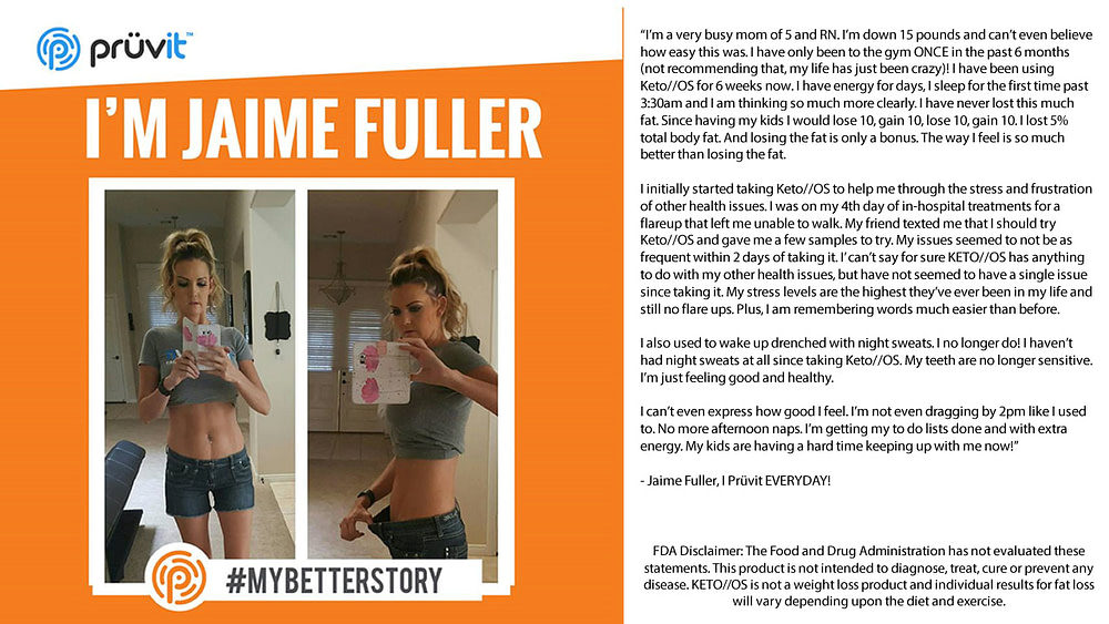 Sleep - Energy - Fat Loss - Night Sweats - Jaime Fuller