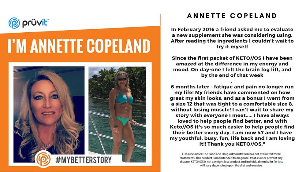 Energy - Brain Fog - Fat Loss - Annette Copeland
