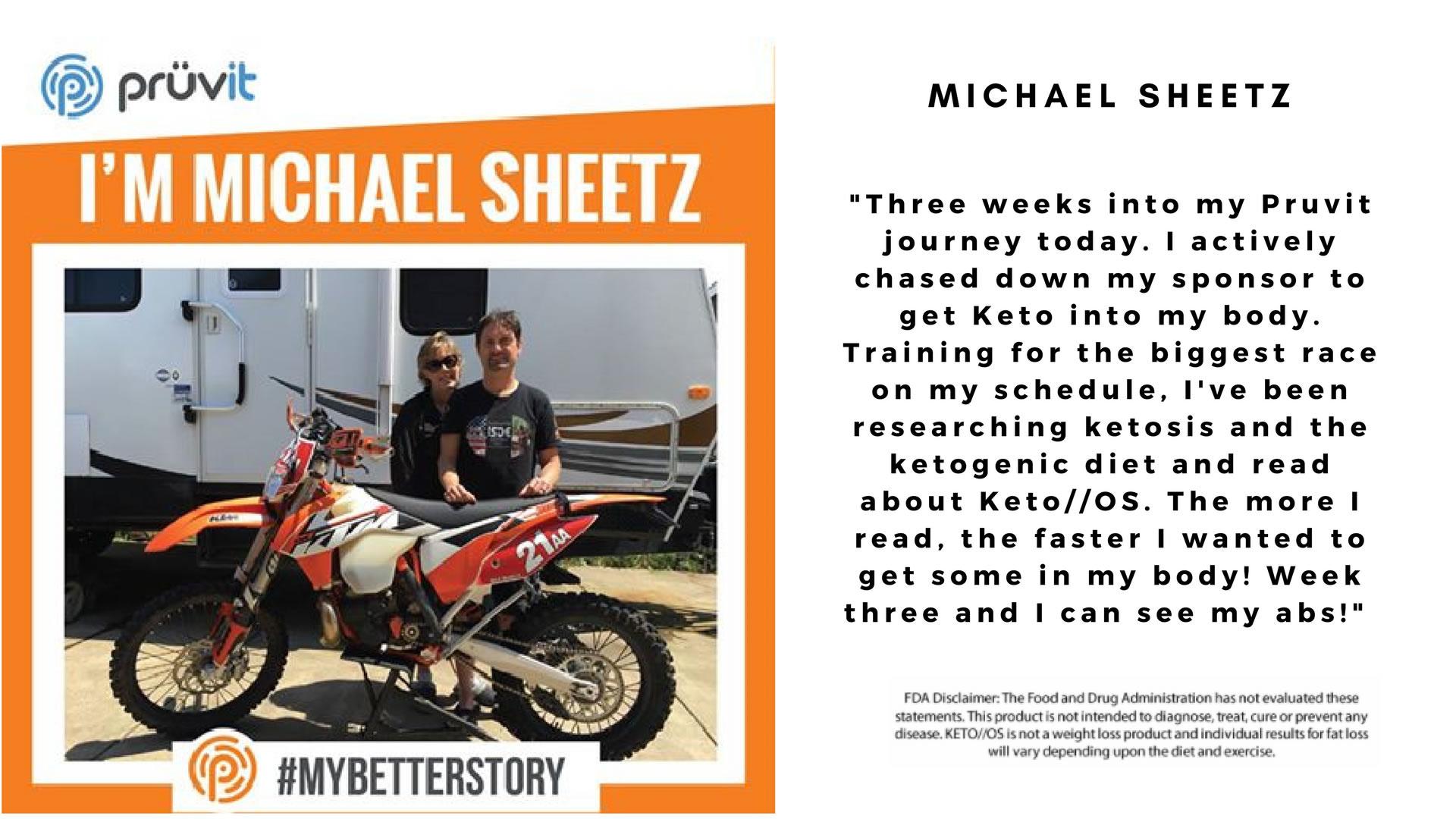 Performance - Motorcross - Fat loss - Michael Sheetz