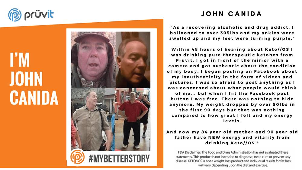 Alcoholic - Fat Loss - Energy - John Canida