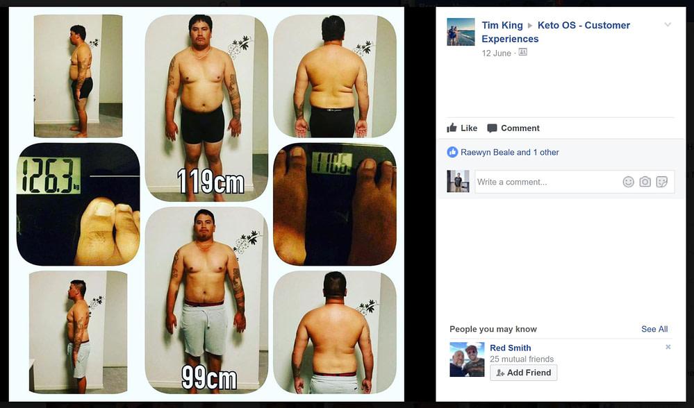 Fat Loss - 119cm to 99cm