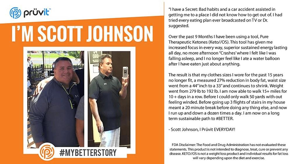 Fat Loss - Scott J